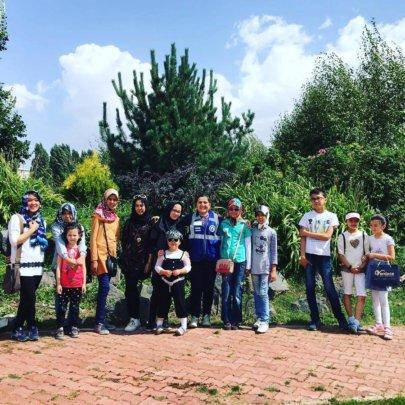 Botanical Garden Trip