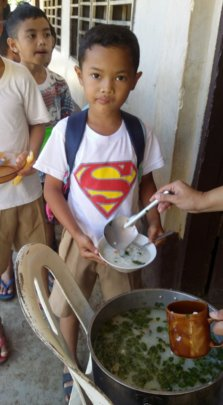 Good hygiene and fresh soup makes Super Kids