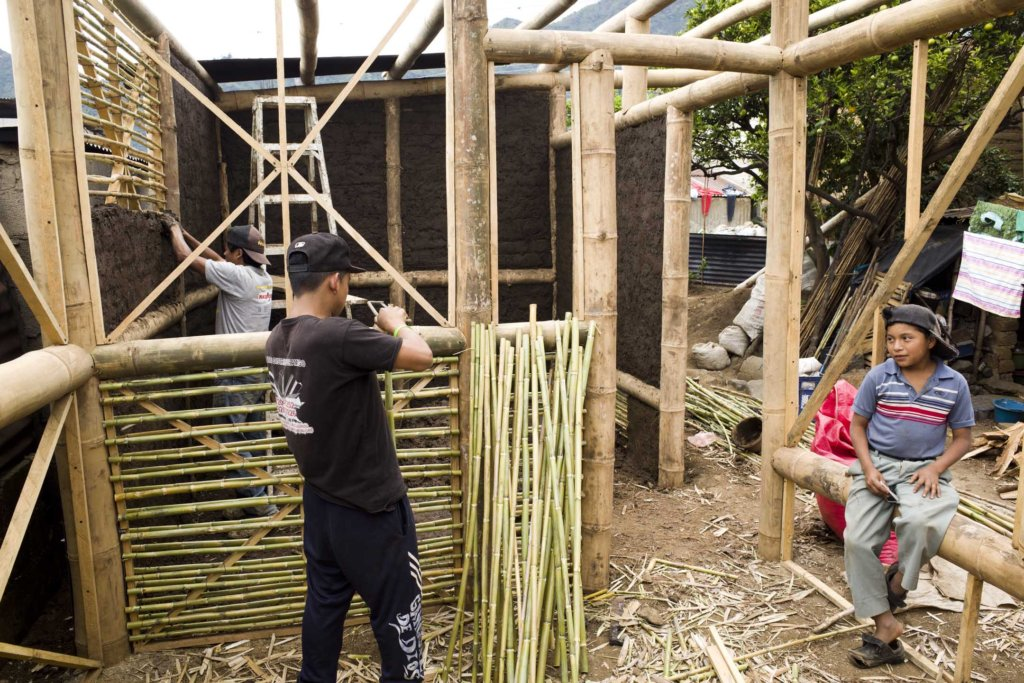 Eco-friendly building for the poor