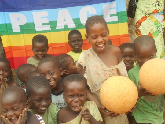 Tall Mauwa loves our Sport for Peace program!
