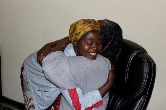 Claudine's heartfelt reunion with SAFECO's Neema N