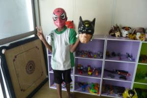 At Play Therapy: My favourite superhero!