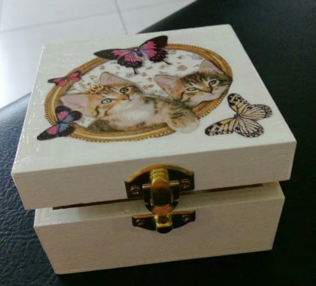 Hand made box by the mothers