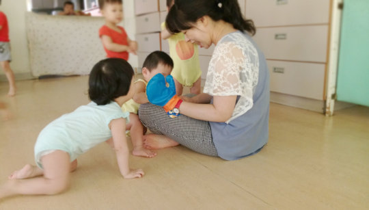 Music exploration for toddlers