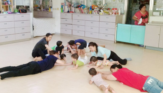 Stretch for toddlers