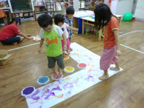 The course on art exploration for kids