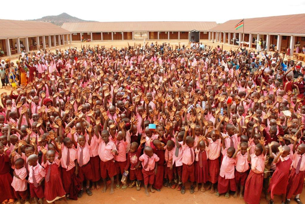 Improve education for 2,500 children in Kenya