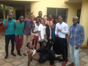 Local Guinean Artists Training with MindLeaps