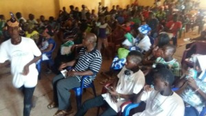 Parents and Community Members at Presentation