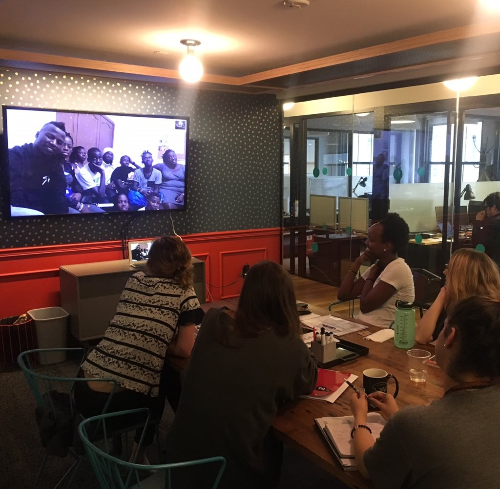 Skype with MindLeaps Trainers in Africa and USA