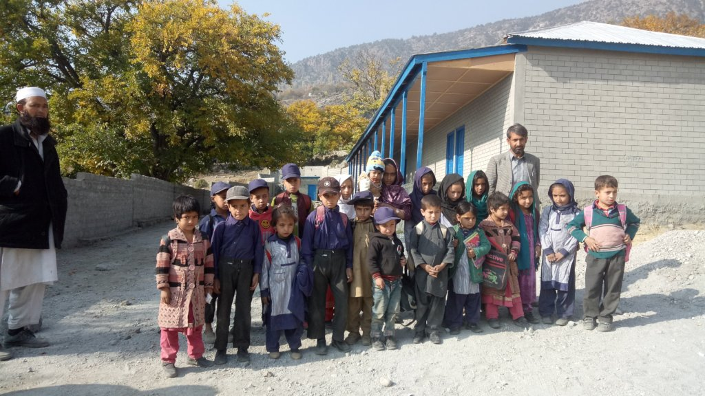 Children in Diamer