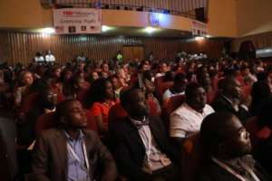 A huge turn out to TEDx Monrovia