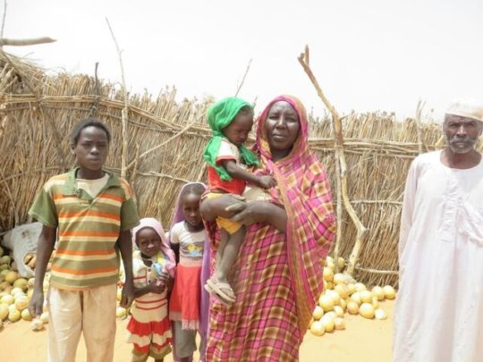 Darfur families need help to build a home