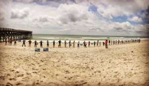 Hands Across the Sand-Oppose New Offshore Drilling