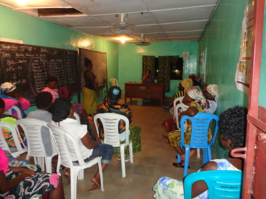 West Women discussing issues effecting them