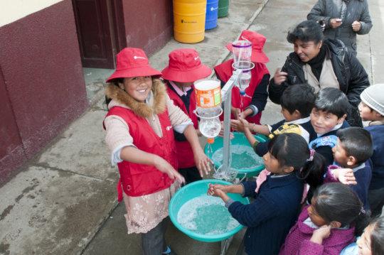 School Health & Nutrition in Bolivia