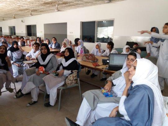 Training at DEWA School