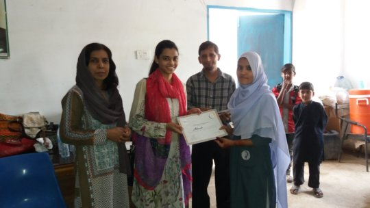 Training exhibition & certificate ceremony at KSD