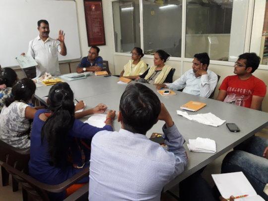 Facilitators' capacity building training