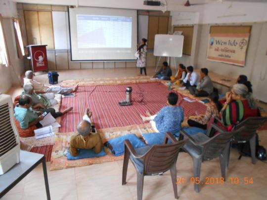 Presentations during Trustees meeting