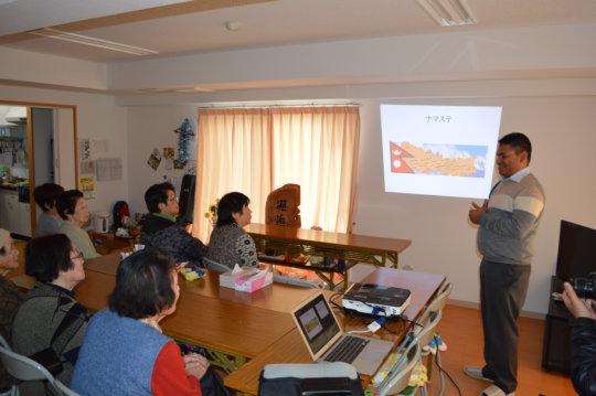 Cultural exchange with Dr. Bijay Gyawali