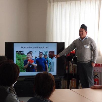 Dr. Gyawali explains about the Nepali earthquake