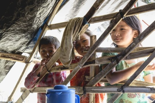 Girls in rural areas are at risk of trafficking.