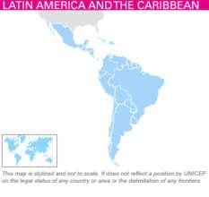 Map - UNICEF Zika Regional HAC