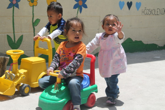 The children of the Day Care Project