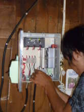 Installing a new control box to an existing system
