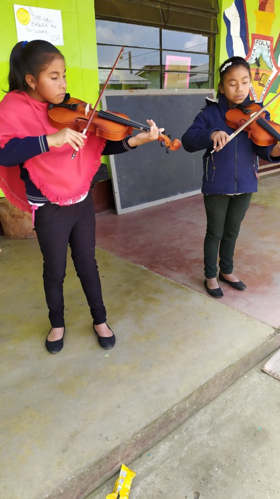 Provide Music Education for Children in Guatemala