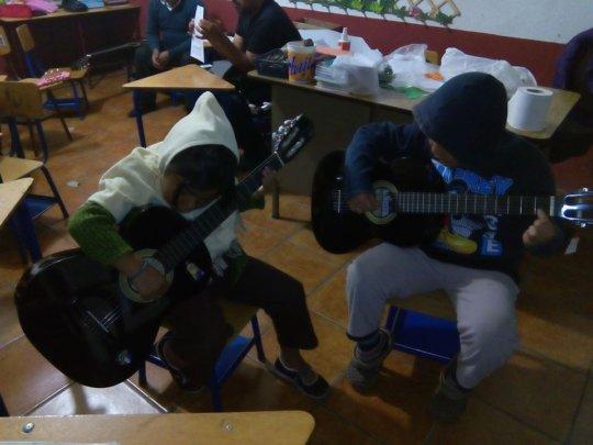 Hope and joy in San Cristobal