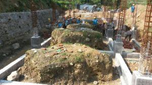 Base of school in Bachchala