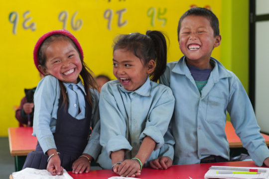 Rebuild Earthquake Resilient Schools in Nepal