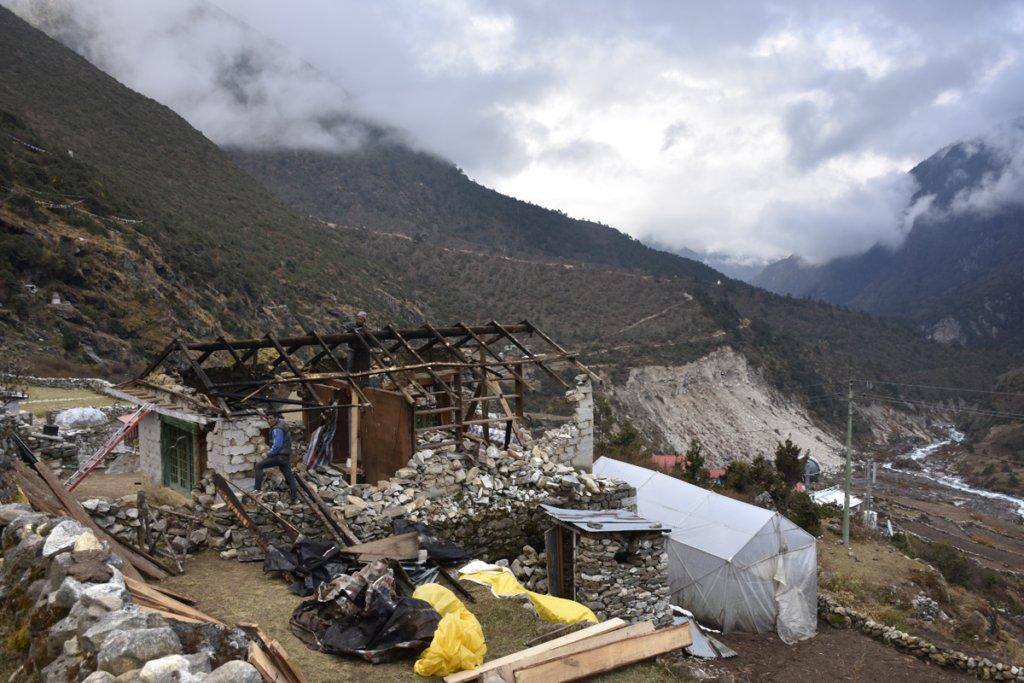 Earthquake Rebuilding in Nepal