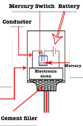 Earthquake detector design