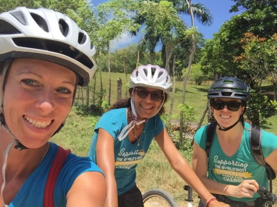 The amazing cycling team!