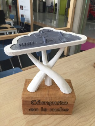 Cloud Computing Trophy by Ricardo