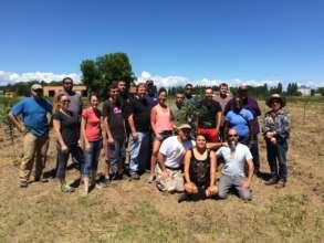 Red Lake Band Orchard Planting 2015