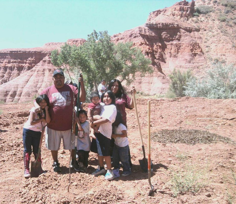 Bring Fruit Trees to Native American Reservations
