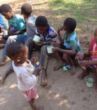 Victoria Falls Children