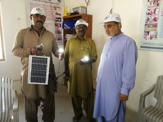 Mini Solar Systems for rural families