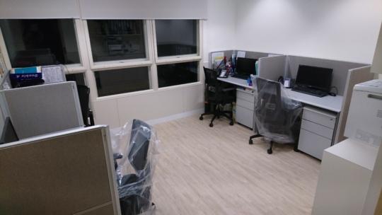 Self-help group work room