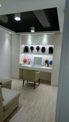 Wig-cum-Counselling room