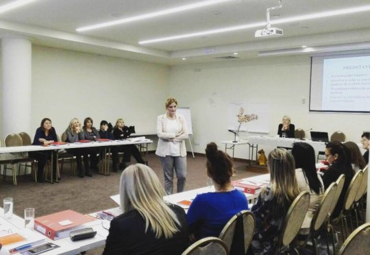 Training about human trafficking for institutions
