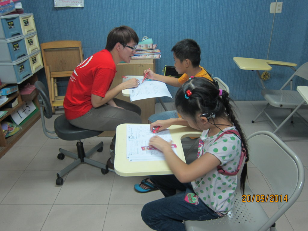 Tutoring program for 15 hard of hearing students