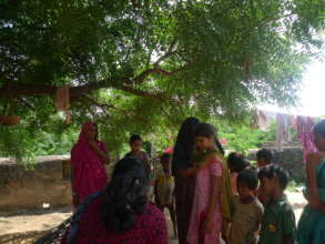 Following up on Sajini in her village