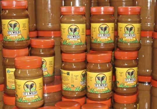 It's Wild Peanut Butter Jars