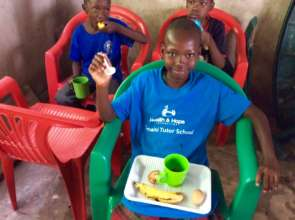 Our Orphan Feeding Program is yummy !