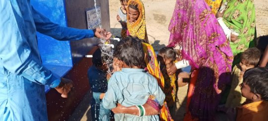 Children Enjoying with Water